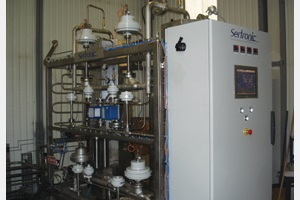 Nitrogen purifier N 500-15 - Touch screen supervision