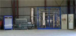 Hydrogen production chain included gas compressor and purification unit.  Air Liquide Maroc - 150Nm3/h - 200barg